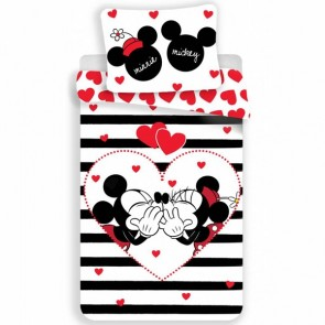 Disney Minnie Mouse Dekbedovertrek Stripe