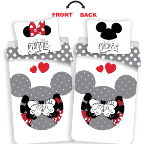 Disney Minnie Mouse Dekbedovertrek Your Minnie/Mickey