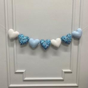 Dolly Slinger Hartjes Blauw