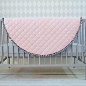 Dolly Speelkleed Pompoentjes Roze/Grijs