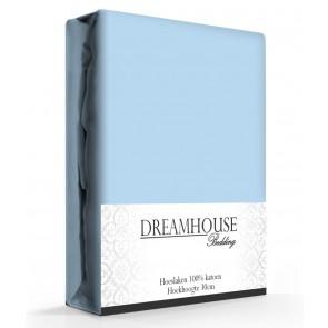 Dreamhouse Hoeslaken Katoen Blauw