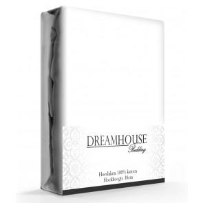 Dreamhouse Hoeslaken Katoen Wit
