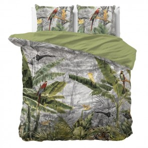 reamhouse Dekbedovertrek Jungle by Night Grey