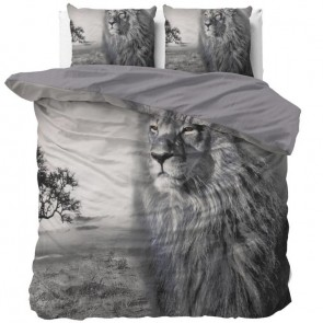 Dreamhouse Dekbedovertrek King Of Nature Grey