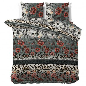 Dreamhouse Dekbedovertrek Panther Lacy Anthracite