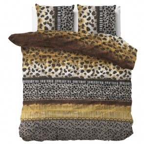Dreamhouse Dekbedovertrek Trendy Panther Taupe