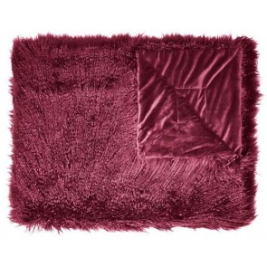Essenza Plaid Vita Burgundy 140x200cm