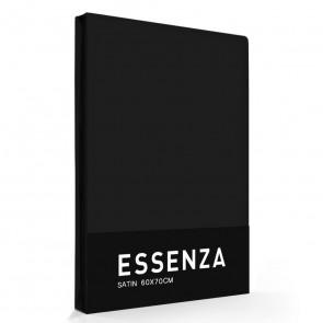 Essenza Kussensloop Satin Zwart (1 stuk)