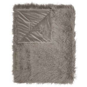 Essenza plaid Vita Taupe 14- x 200 cm