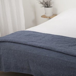 Town & Country Sprei Florence Jeansblauw