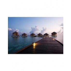 Fotobehang Dream Island 232 cm x 315 cm