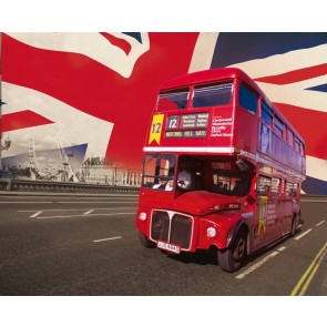 London Bus Fotobehang (Wallpaper)