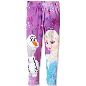 Frozen Legging Anna & Elsa Purple