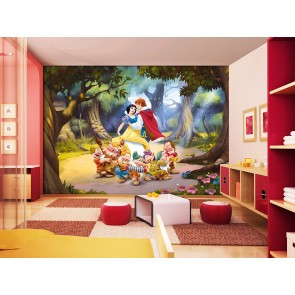 Snow White Fotobehang 4D (AG Design)