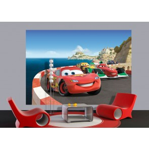 Cars 2 Race Fotobehang 2D (AG Design)