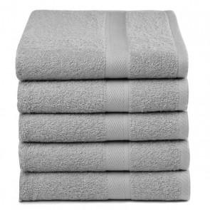 Handdoekken Grijs (5 stuks)
