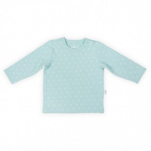 Jollein Shirt Lange Mouw 74/80 Hearts Soft Green