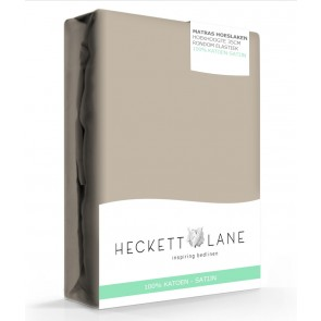 Heckett & Lane Hoeslaken Satijn Taupe