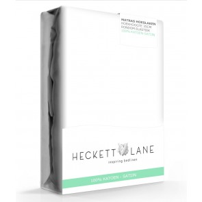 Heckett & Lane Hoeslaken Satijn White