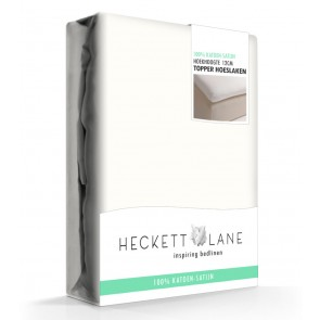 Heckett Lane Hoeslaken Topper Satin Off-white