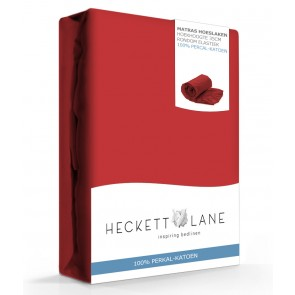 Heckett Lane Hoeslaken Percal Aurora Red