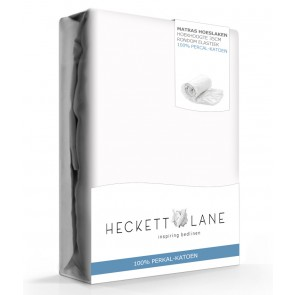 Heckett & Lane Hoeslaken Percal White