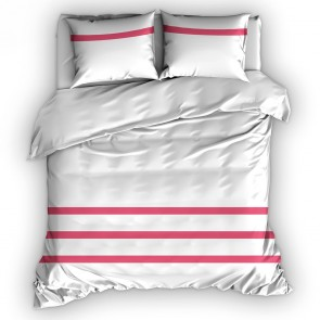 Italian Home Collection dekbedovertrek Deauville Fuchsia