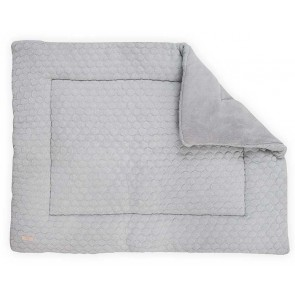 Jollein Boxkleed Fancy Knit Soft Grey 80x100cm