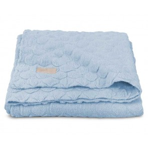 Jollein Deken Fancy Knit Baby Blue 100x150cm