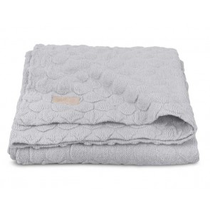 Jollein Deken Fancy Knit Soft Grey 100x150cm