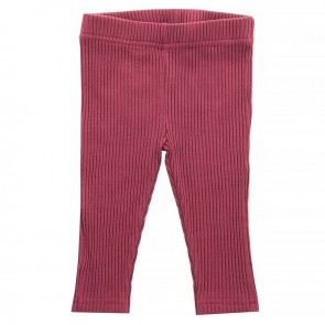 Jollein Legging Rib Maroon Red 74/80