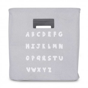 Jollein Mandje ABC Soft Grey