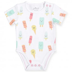 Jollein Romper Korte Mouw Happy Icecream 74/80