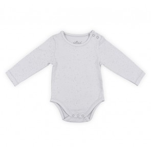 Jollein Romper lange mouw Mini Dots Soft Grey 50/56