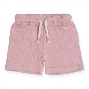 Jollein Korte Broek Cotton Wrinkled Pink 74/80