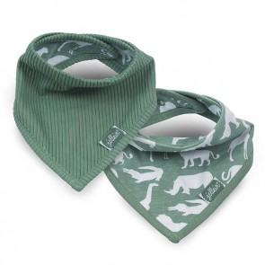 Jollein Slab Bandana Safari Forest Green (2st)