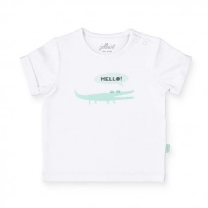 Jollein T-shirt Happy Croco 50/56