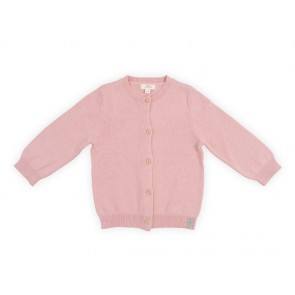 Jollein Vestje Pretty Knit Blush Pink 74/80