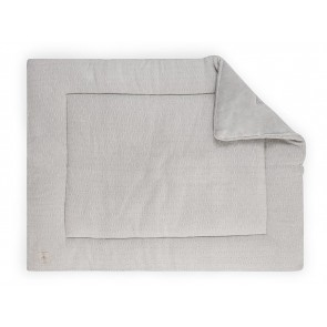 Jollein Boxkleed 80x100cm Soft Knit Light Grey