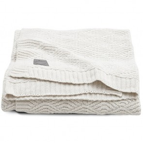 Jollein Deken 100x150cm River Knit Cream White