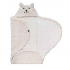 Jollein Wikkeldeken Teddy Bear Off-white