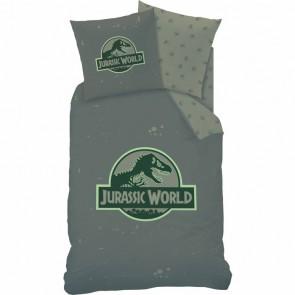 Jurassic World Dekbedovertrek Logo