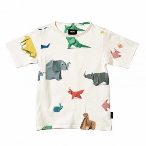 Snurk Kids T-shirt Paper Zoo