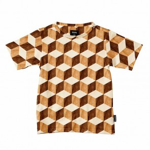 Snurk Kids T-shirt Wooden Cubes