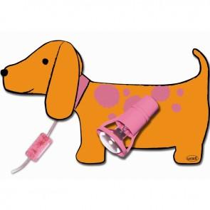 Kinderlamp Teckel Hond Emma