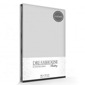 Kussenslopen Grijs Dreamhouse (2-stuks