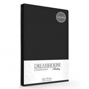 Kussenslopen Zwart Dreamhouse (2-stuks)