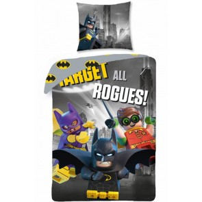 Lego dekbedovertrek Batman Target All Rogues