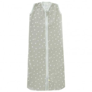 Little Lemonade Zomerslaapzak Dots Grey 70cm