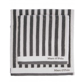 Marc O'Polo Badgoed Classic Stripe Anthracite & Silver